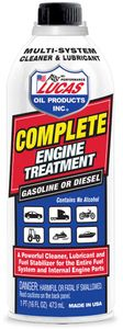 Lucas Complete Engine Treatment Cleaner & Lubricator (16 oz)