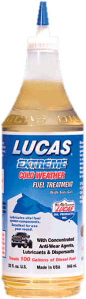 Image of Lucas Extreme Cold Weather Fuel Treatment (32 oz.)