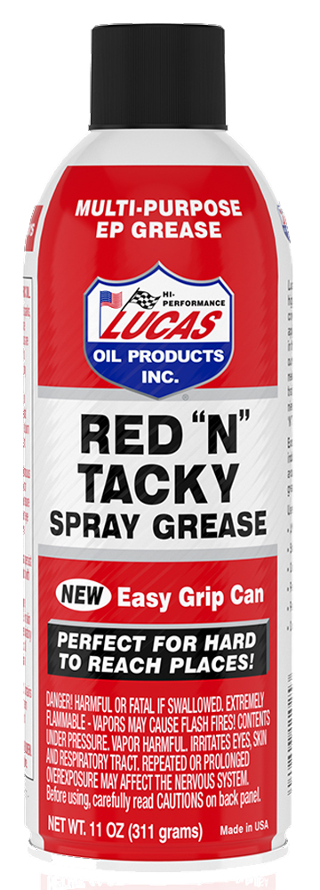 """Image of """"Lucas Red """"""""N"""""""" Tacky Grease - 11 oz"""""""