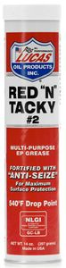 "Lucas Red ""N"" Tacky Multi-Purpose EP Grease (14 oz.)"