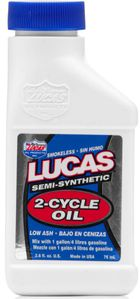 Lucas Semi-Synthetic 2-Cycle Oil (2.6 oz)