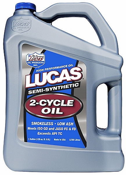 Image of Lucas Semi-Synthetic 2-Cycle Racing Oil (1 Gallon)