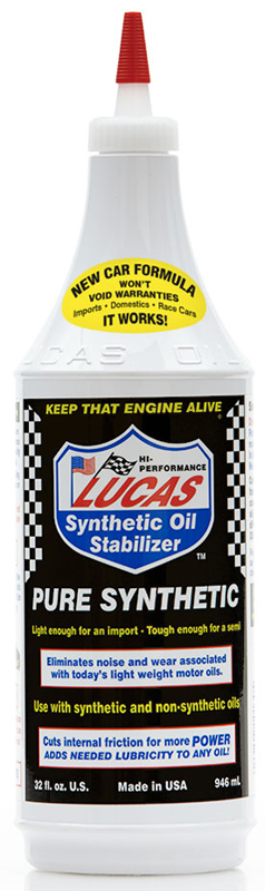Image of Lucas Synthetic Heavy Duty Oil Stabilizer (1 Qt.)