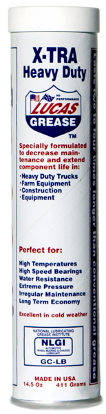 Image of Lucas Xtra Heavy Duty Grease (14.5 oz.)