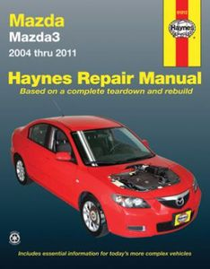 Mazda 3 Haynes Repair Manual (2004-2011)