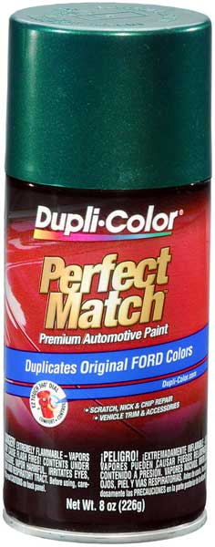 Mazda Metallic Amazon Green Auto Spray Paint -SU (1999-2003)