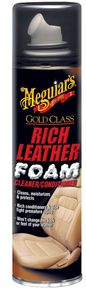 Meguiar's Gold Class Rich Leather Foam Cleaner/Conditioner