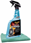 Meguiar's Hot Rims Aluminum Wheel Cleaner (24 oz.) & Microfiber Cloth Kit