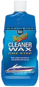 Meguiar's Marine & RV One Step Liquid Cleaner Wax (16 oz.)