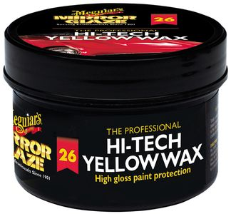 Meguiar's Professional Hi-Tech Yellow Paste Wax (11 oz.)