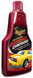 Meguiars Clear Coat Safe Rubbing Compound (16 oz.)