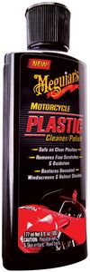 Meguiars Motorcycle Plastic Cleaner & Polish (6 oz)