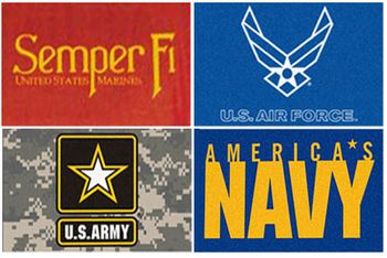 "Military All Star Area Mats (33.75"" x 42.5"")"