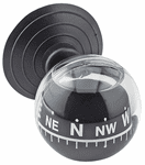 Bell Windshield Mounted Mini Compass