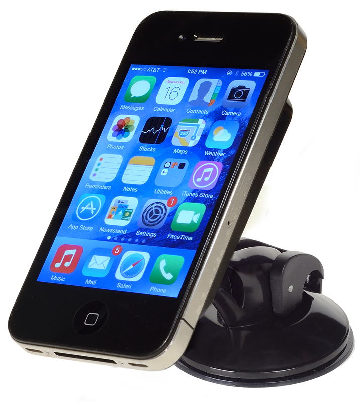 Image of Mini Suction Cup Smartphone Holder