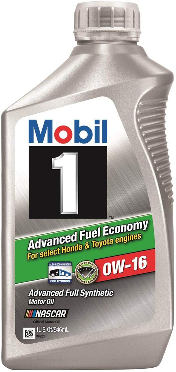 Image of Mobil 1 0W16 Advanced Fuel Economy Synthetic Engine Oil (1 Qt)