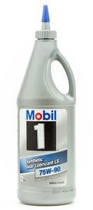 Mobil 1 75W-90 Synthetic Gear Lube (1 qt)