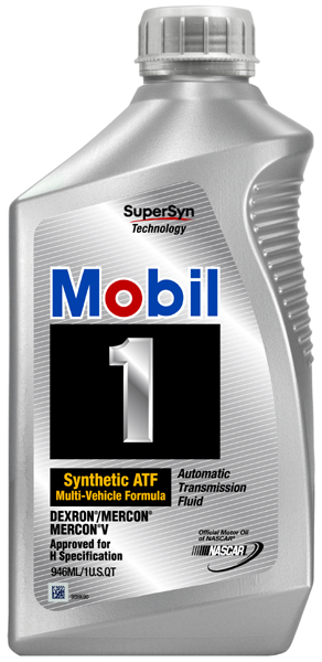 Image of Mobil 1 Synthetic Automatic Transmission Fluid