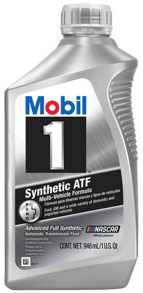 Image of Mobil 1 Synthetic Automatic Transmission Fluid (1 Qt)