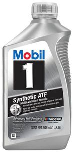 Mobil 1 Synthetic Automatic Transmission Fluid (1 Qt)