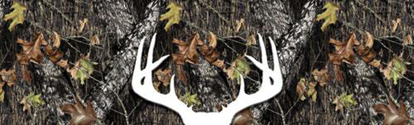 Mossy Oak Break Up With Deer Outline Decal