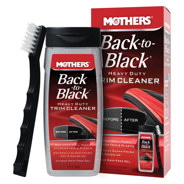 Image of Mothers Back-To-Black Heavy Duty Trim Cleaner Kit