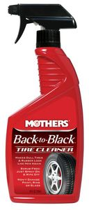 Mothers Back to Black Tire Cleaner (24 OZ)