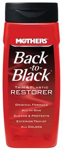 Mothers Black-To-Black Trim & Plastic Restorer (12 oz)