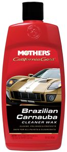 Mothers California Gold® Brazilian Carnauba Cleaner Wax (16 oz.)