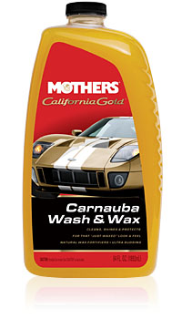 Image of Mothers California Gold Carnauba Wash & Wax (64 oz)