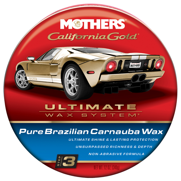 Mothers California Gold Pure Brazilian Carnauba Wax (12 oz)