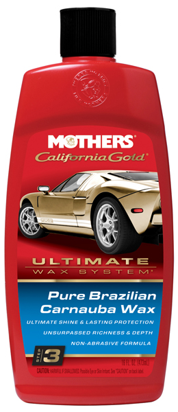 Mothers California Gold Pure Brazilian Carnauba Wax (16 oz.)