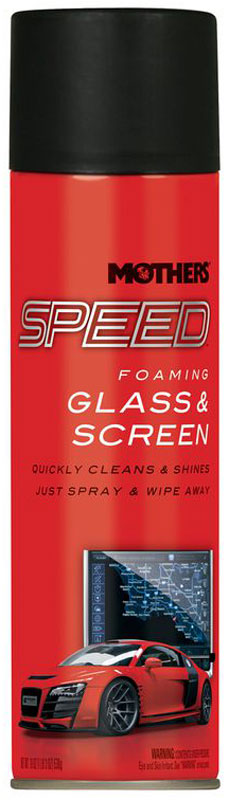 Image of Mothers Speed Glass & Screen Cleaner (19 oz)