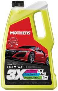 Mothers Triple Action Super Concentrated Foam Wash (100 oz)