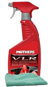 Mothers Vinyl, Leather & Rubber (VLR) Care (24 oz.), Microfiber Cloth Kit
