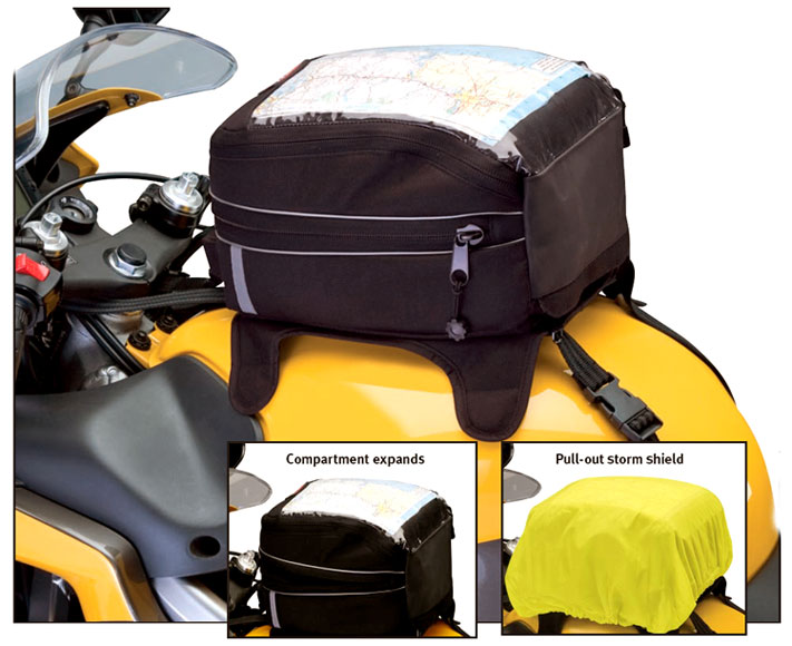 Image of MotoGear Motorcycle Tank Bag