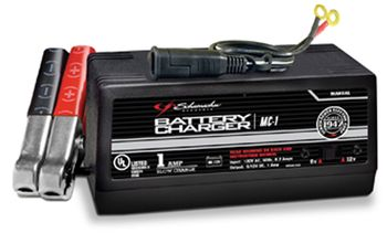 Schumacher Motorcycle Battery Charger (1 AMP)