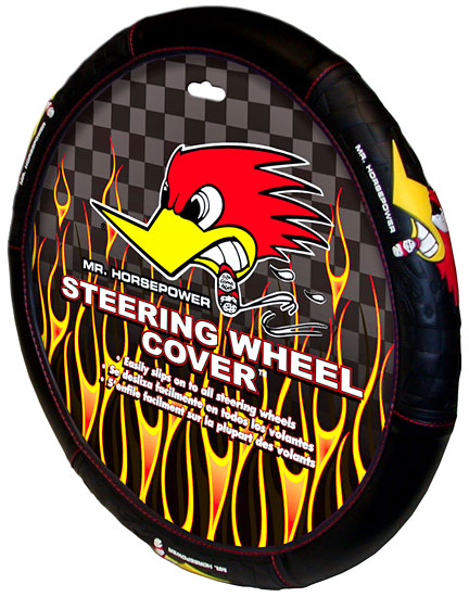 Image of Mr. Horsepower Steering Wheel Cover