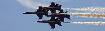 National Geographic Blue Angels in Formation Rear Window Decal