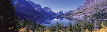 National Geographic Glacier National Park Rear Window Decal