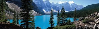 National Geographic Moraine Lake Rear Window Decal
