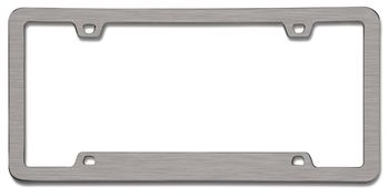 NEO™ Sport Brushed Nickel License Plate Frame