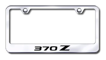 Nissan 370Z Laser Etched Stainless Steel License Plate Frame