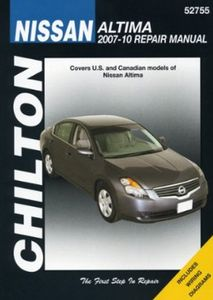 Nissan Altima Chilton Repair Manual (2007-2010)