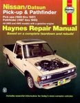 Nissan & Datsun Pick-Up & Pathfinder Haynes Repair Manual (1980-1997)