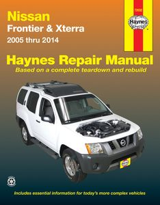 Nissan Frontier and Xterra Haynes Repair Manual (2005-2014)