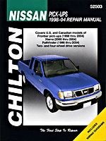Nissan Frontier/Pathfinder (1998-04) Chilton Manual