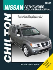 Nissan Pathfinder Chilton Repair Manual (2005-2014)