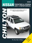 Nissan Frontier & Xterra Chilton Manual (2005-2014)