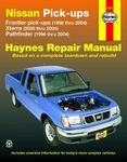 Nissan Frontier, Xterra & Pathfinder Haynes Repair Manual (1996-2004)